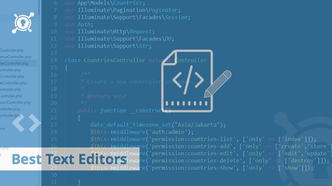 Text Editor Recommendations For Coding