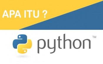 Mengenal Bahasa Pemrograman Python