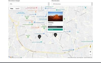 Gis Umkm Menggunakan Google Map Api Key Dengan Php Mysql