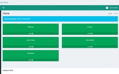 Sistem Informasi Pengolahan Bantuan Kelompok Usaha Dengan Php Mysql