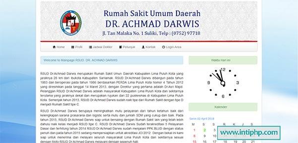 Download Project Website Profil Rumah Sakit Php Mysql