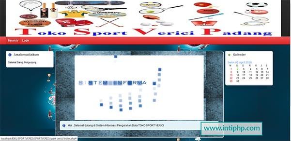 Sistem Informasi Pengolahan Data Produk Pada Toko Dengan Php Mysql Gratis