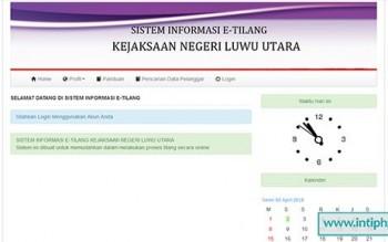 Sistem Informasi E-tilang Php Mysql