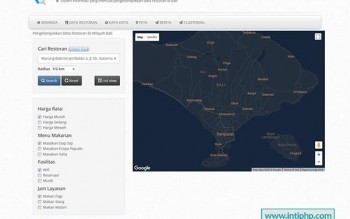 Download Sistem Informasi Geografis Lokasi Restoran Php Mysql Gratis
