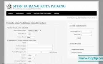 Sistem Informasi Peneriamaan Siswa Berbasis Web Gratis