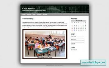 Sistem Informasi Pengolahan Uang Sekolah Php Mysql