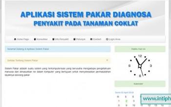 Sistem Pakar Diagnosa Penyakit Tanaman Coklat Berbasis Web