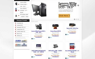 Aplikasi Penjualan Toko Dengan Shopping Cart Php Dan Mysqli