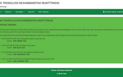 Siakad Sma Dan Sms Gateway Dengan Php Mysql