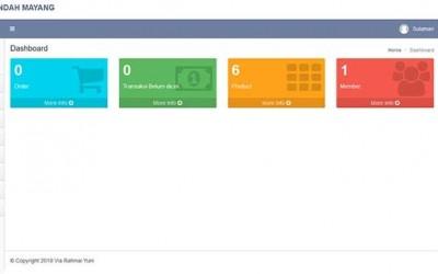 Project Php Mysql Penjualan Sulaman Dengan Laravel