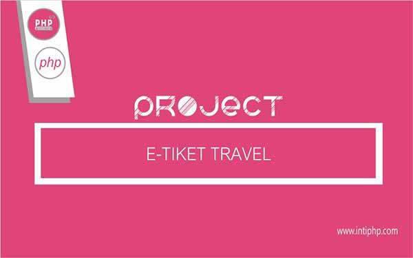 Project Aplikasi Web : E-tiket Travel