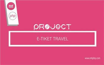 Project Web Application: Travel E-ticket