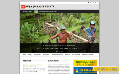Website Desa Full Responsive