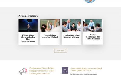 Website Profil Kampus Codeigniter