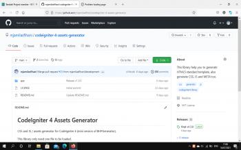 CSS, JS Dan META Loader Untuk CodeIgniter 4