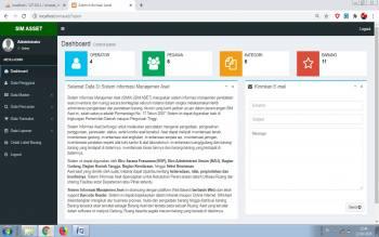 Sistem Informasi Manajemen Aset (SIM ASET) Support Barcode Reader